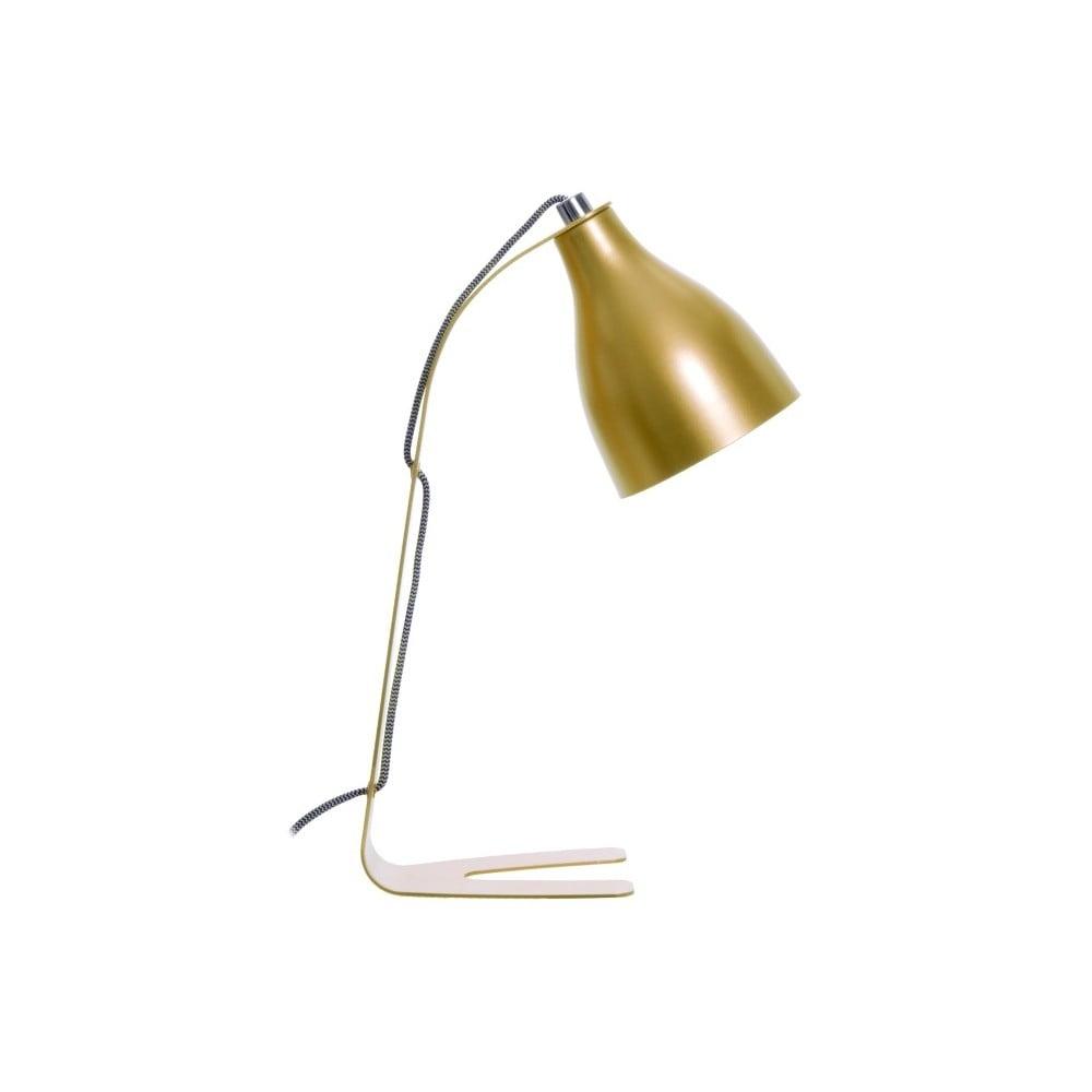 Stolní lampa ve zlaté barvě Present Time ETH Barefoot