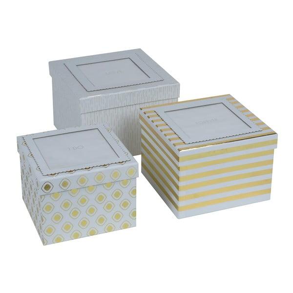 Sada 3 krabic Tri-Coastal Design I Do, I Do