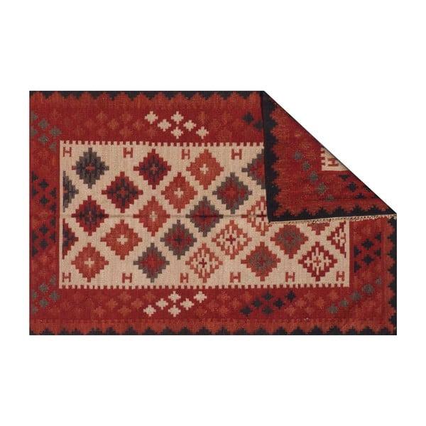 Vlněný koberec Kilim No. 727, 155x240 cm