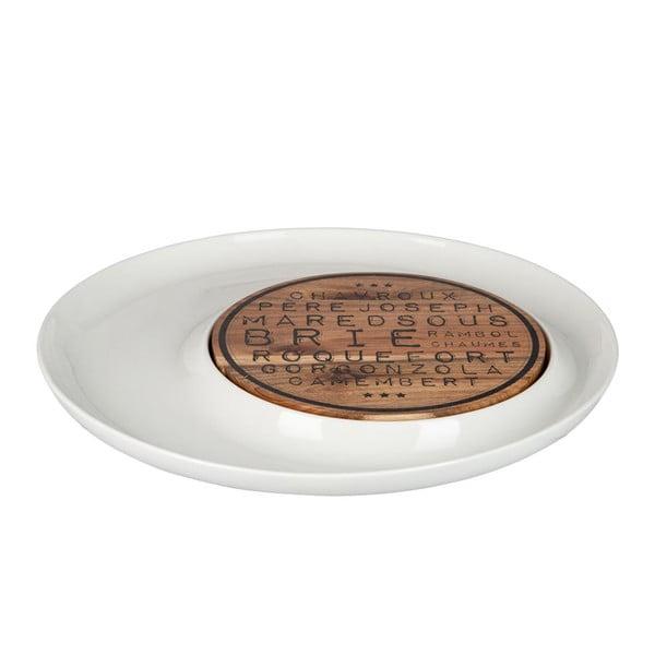 Servírovací podnos na sýry Cheese Dish Acacia