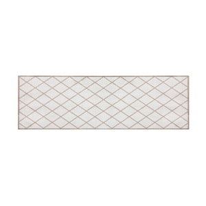 Hnědý běhoun Hanse Home Magic Scale, 50x150cm