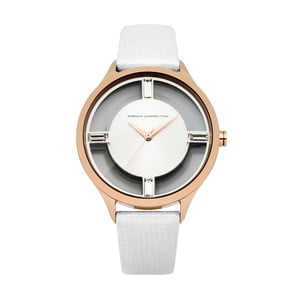 Bílé dámské hodinky French Connection Therése