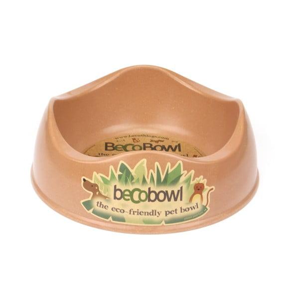 Psí/kočičí miska Beco Bowl 26 cm, hnědá