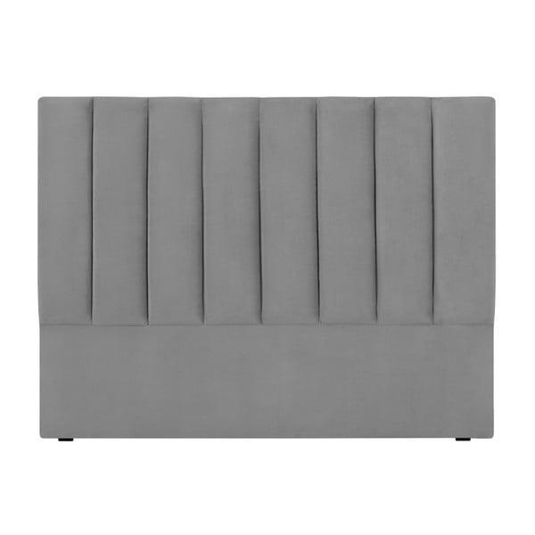 Světle šedé čelo postele Cosmopolitan Design Los Angeles, šířka 200cm