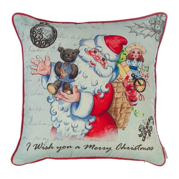 Vánoční povlak na polštář Apolena Comfort Teddy, 43x43cm
