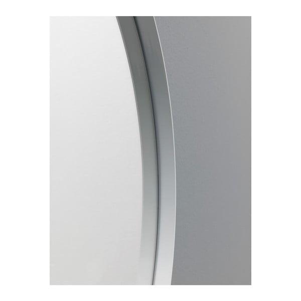 Nástěnné zrcadlo v bílém rámu Design Twist Jenin