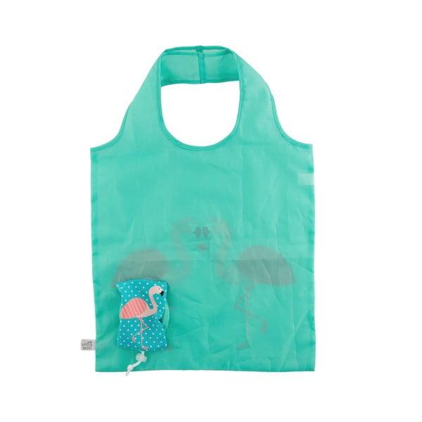 Skládací nákupní taška Sass & Belle Tropical Flamingo