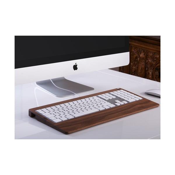 Dřevěný obal na klávesnici, ořech