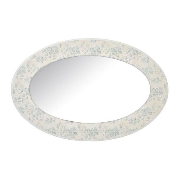 Zrcadlo Oval Flower