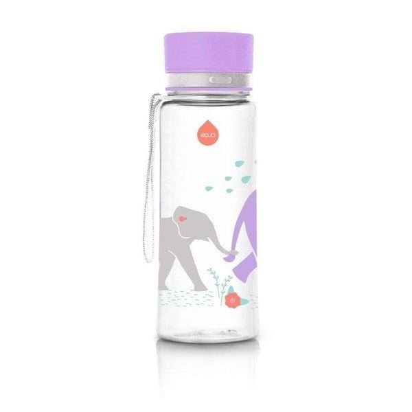 Niebieska butelka Equa Elephant, 600 ml