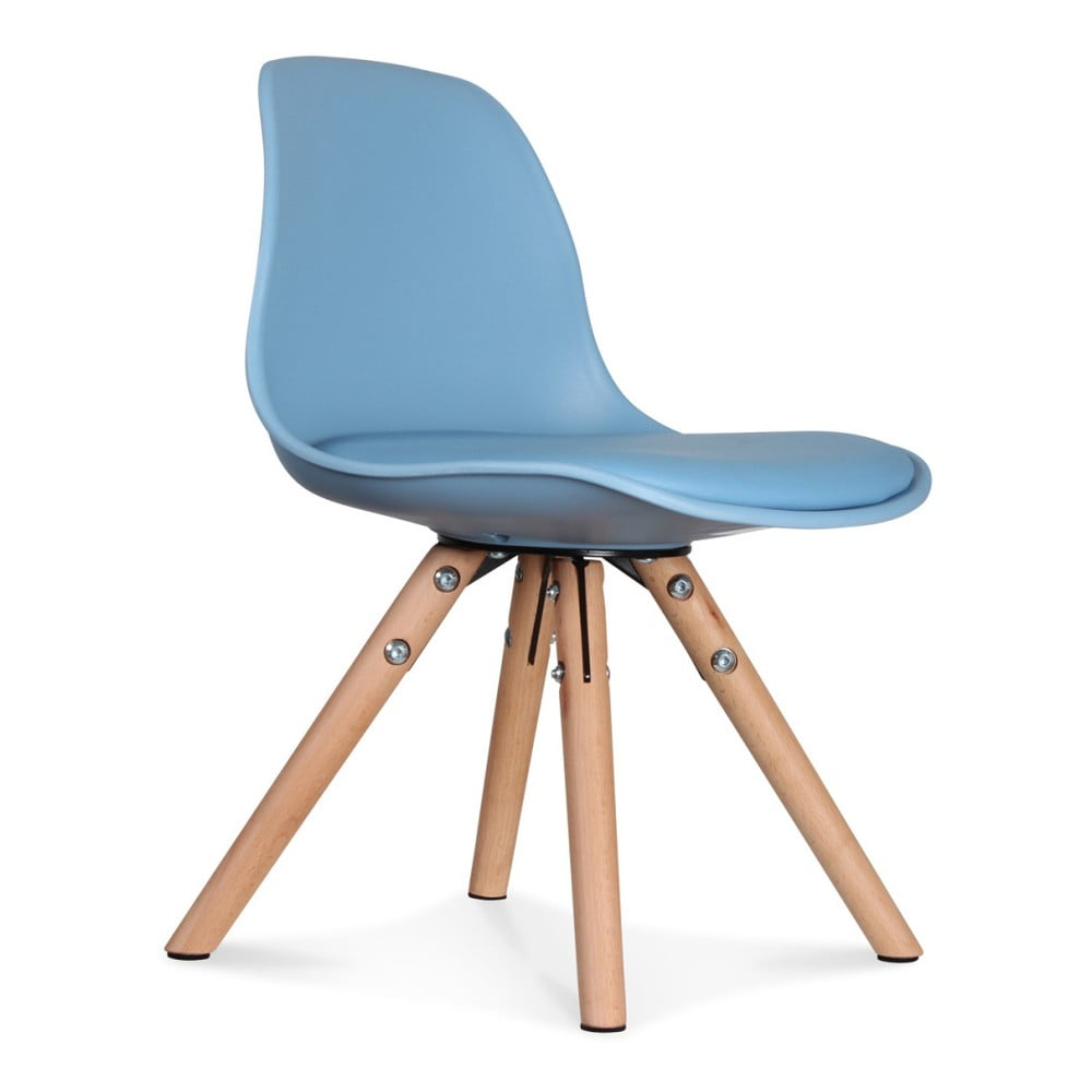 Sada 2 modrých židlí Opjet Paris Scandinave Chaise