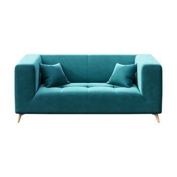 Canapea cu 2 locuri MESONICA Toro turcoaz