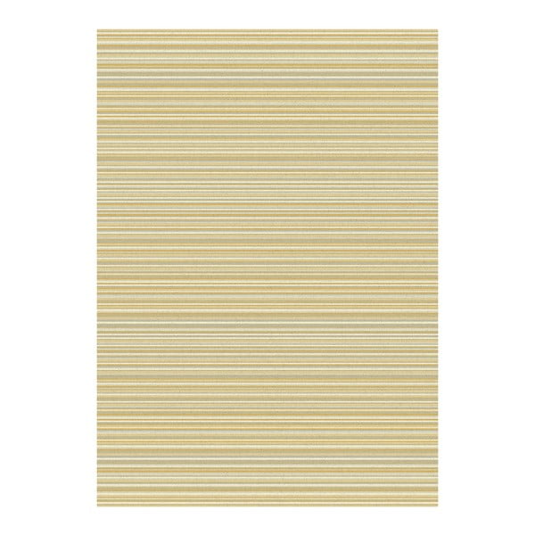 Koberec Asiatic Carpets Focus Ochre Stripes, 120x170 cm
