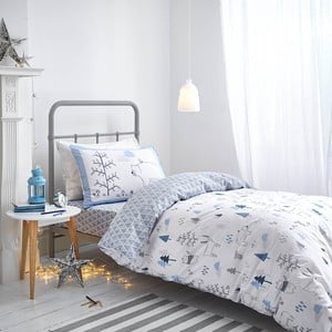 Modré povlečení Bianca Nordic Cotton,135x200cm