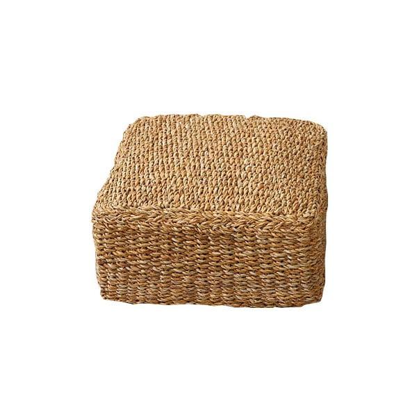 Taburet Mořská tráva, čtverec, 22 cm