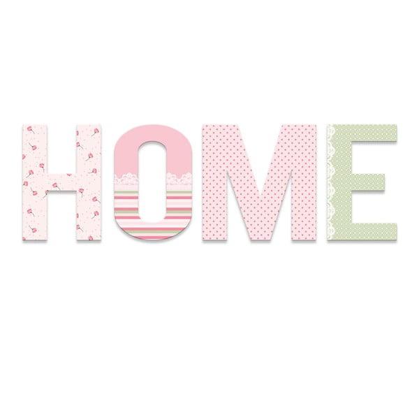 Dekorativní nápis Home Art
