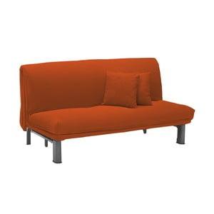 Canapea extensibilă cu 3 locuri 13Casa Furios, portocaliu