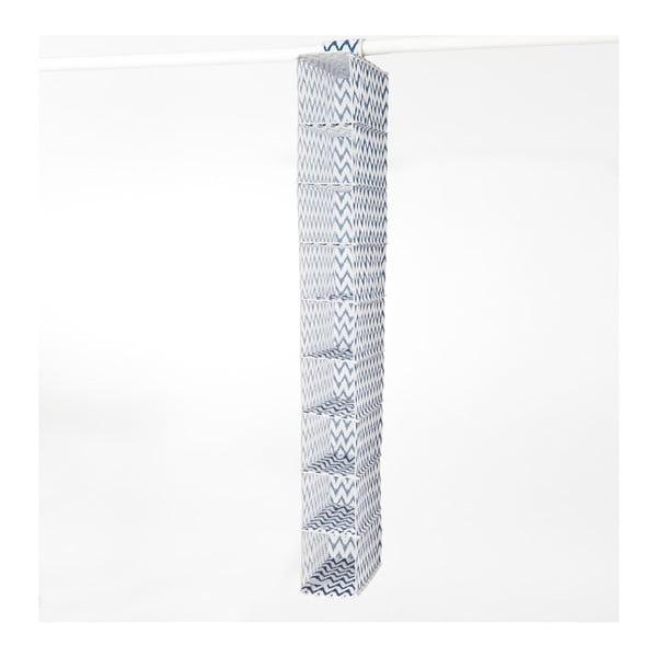 Textilní závěsný organizér Compactor Zig Zag 9 Rack