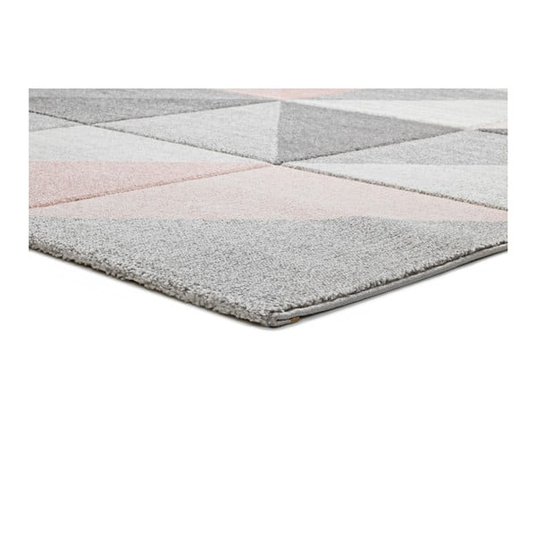 Růžovošedý koberec Universal Retudo Naia, 80x150cm