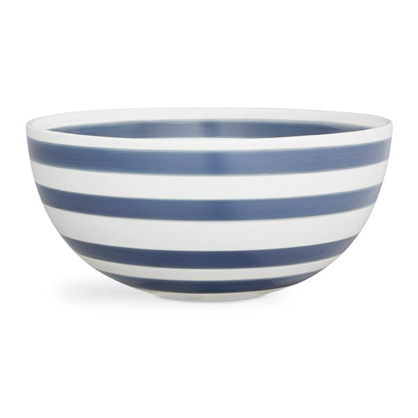 Modro-bílá kameninová miska Kähler Design Omaggio, ⌀ 30 cm
