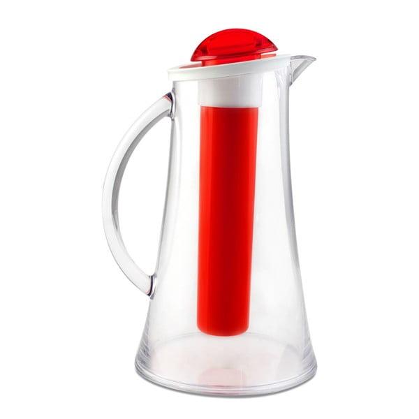 Carafă Vialli Design Livio, 2,1 l, roșu