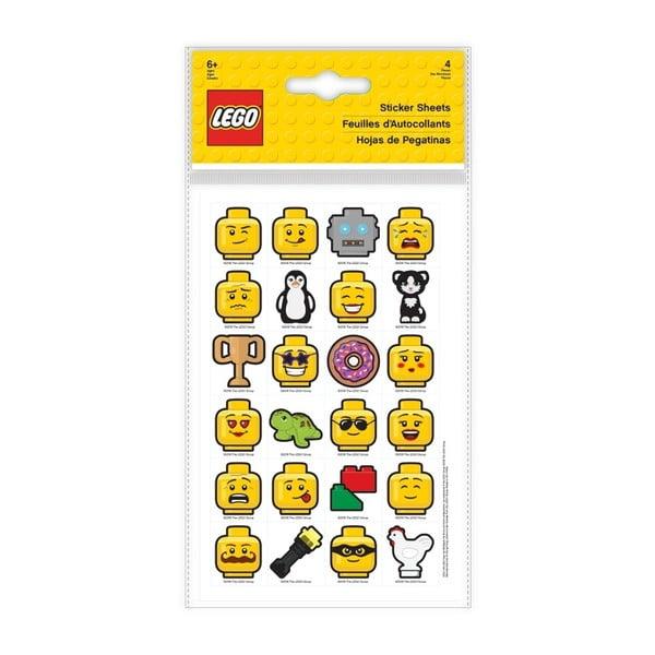 Sada 96 samolepek LEGO® Iconic