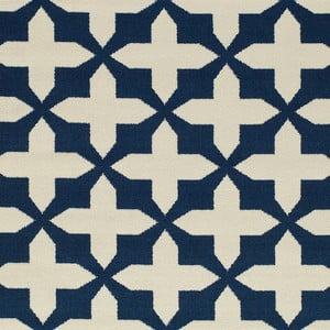 Tmavě modrý koberec Nourison Baja Chivay, 290 x 201 cm