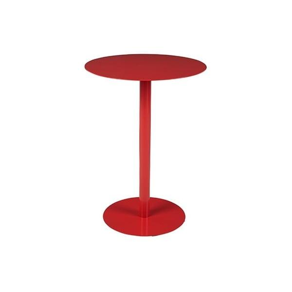 Červený odkládací stolek Elvi
