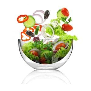 Bol pentru salată cu pereți dubli Vialli Design Amo, 500 ml