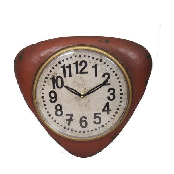 Červené nástěnné hodiny Antic Line Vintage