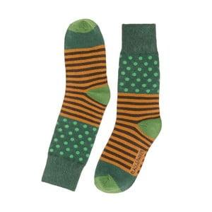 Vysoké unisex ponožky Black&Parker London Lake,velikost37/43