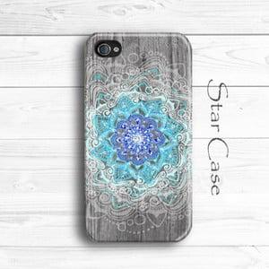Obal na iPhone 4/4S Wood Mandala