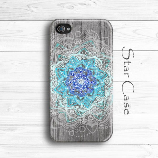 Obal na iPhone 5/5S Wood Mandala
