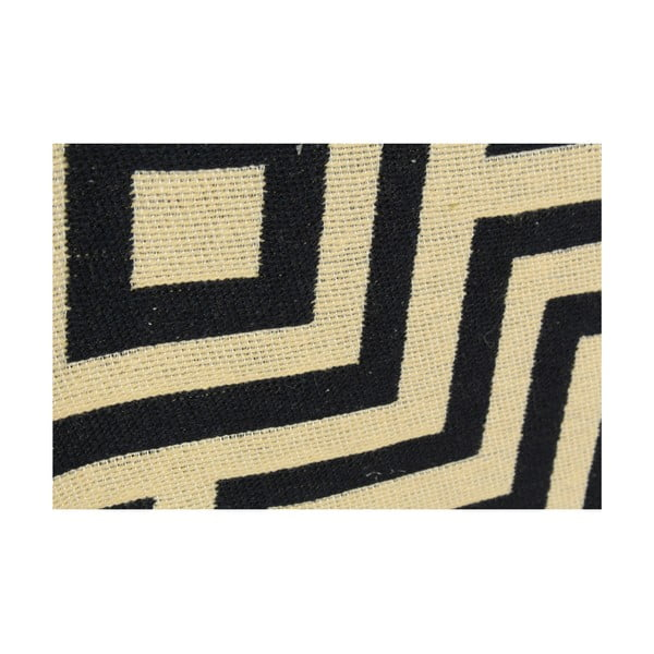 Tmavě modrý koberec Ya Rugs Kare, 60x90cm