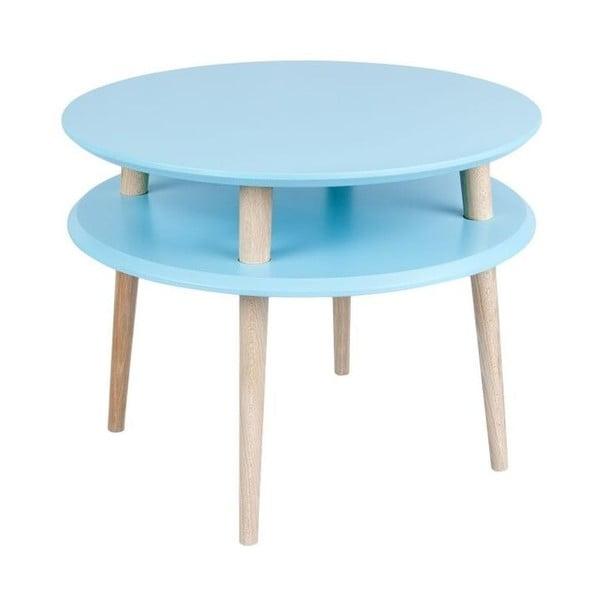 Konferenční stolek UFO 45x57 cm, modrý