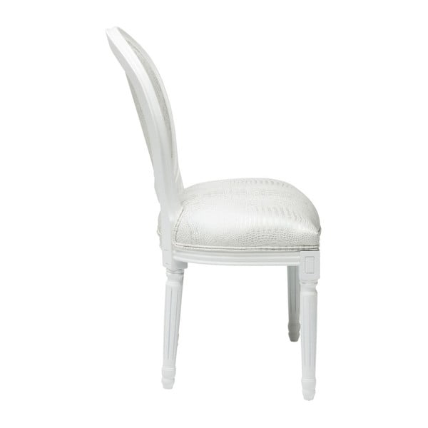 Sada 2 bílých jídelních židlí Kare Design Croco