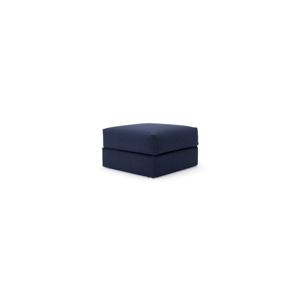 Tmavě modrá taburetka Innovation Cornila Pouf Mixed Dance Blue