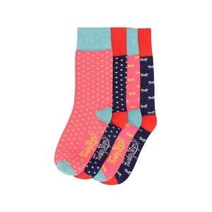 Sada 4 párů barevných ponožek Funky Steps Mister, vel. 35-39