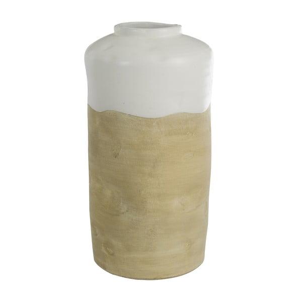 Váza J-Line Ceramic Beige,42cm