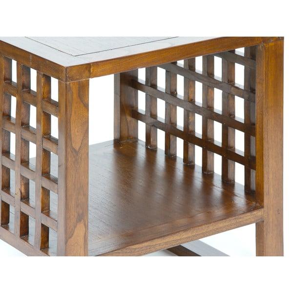 Odkládací stolek z akáciového dřeva Santiago Pons Acacia