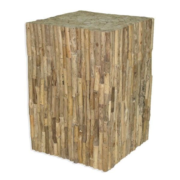 Dřevěný podstavec Logs, 42 cm