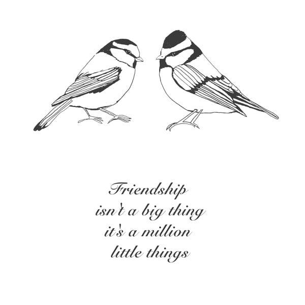 Plakát Karin Åkesson Design Friendship Million, 30x40 cm