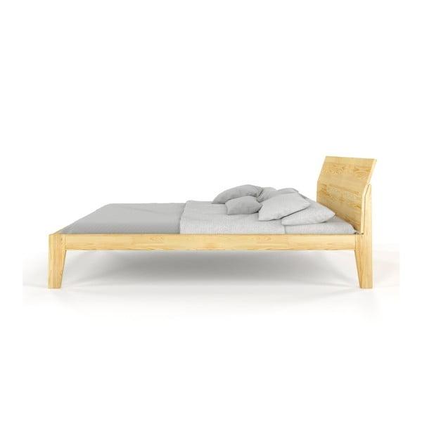 Dvoulůžková postel z masivního borovicového dřeva SKANDICA Agava, 200 x 200 cm