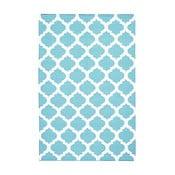 Vlněný koberec Julia Light Blue, 120x180 cm