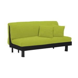 Canapea extensibilă cu 3 locuri 13Casa Lillo, verde