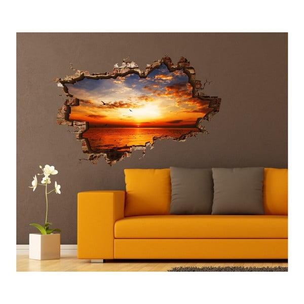 Autocolant de perete 3D art Bart, 135 x 90 cm