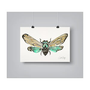 Poster Americanflat Summer Cicada, 30 x 42 cm