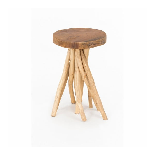 Stolička z teakového dřeva WOOX LIVING Teresa