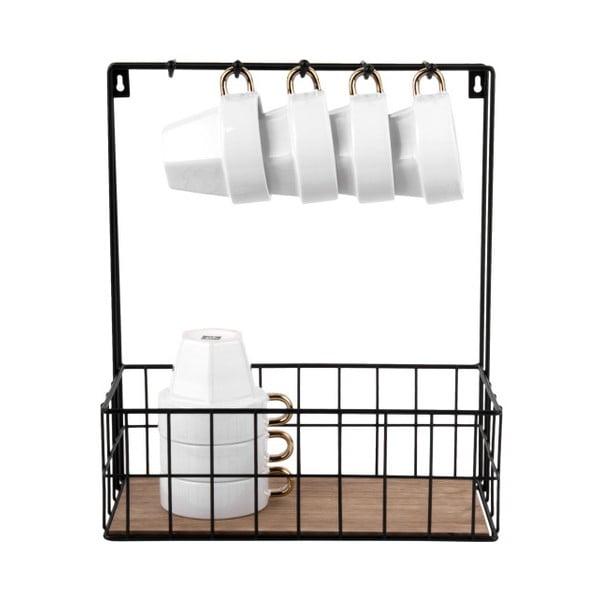 Nástěnný organizér Present Time Kitchen Rack