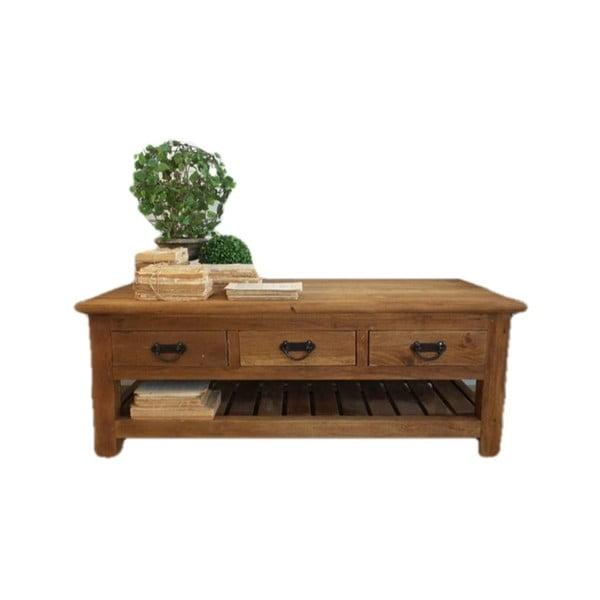 Konferenční stolek zrecyklovaného teakového dřeva Orchidea Milano Nature